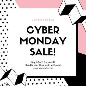 Accessories - Cyber Monday Buy 1 Get 1 for $1 Sale